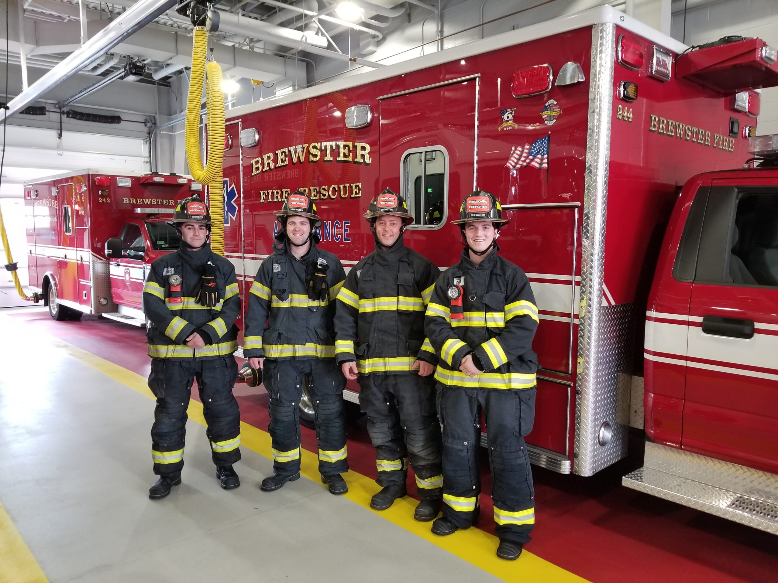 Brewster Fire Rescue Appoints New Firefighters Brewster