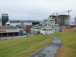 The view of Halifax from the Citadel.