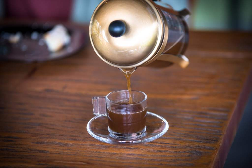 fresh roasted coffee at brew tulum specialty coffee