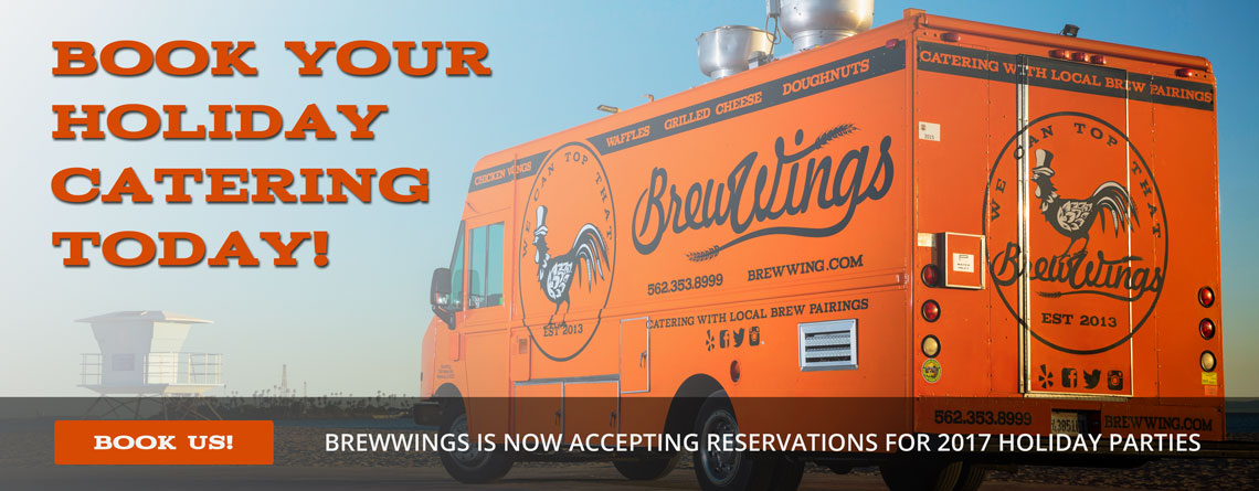 BrewWings | Los Angeles Holiday Party Catering