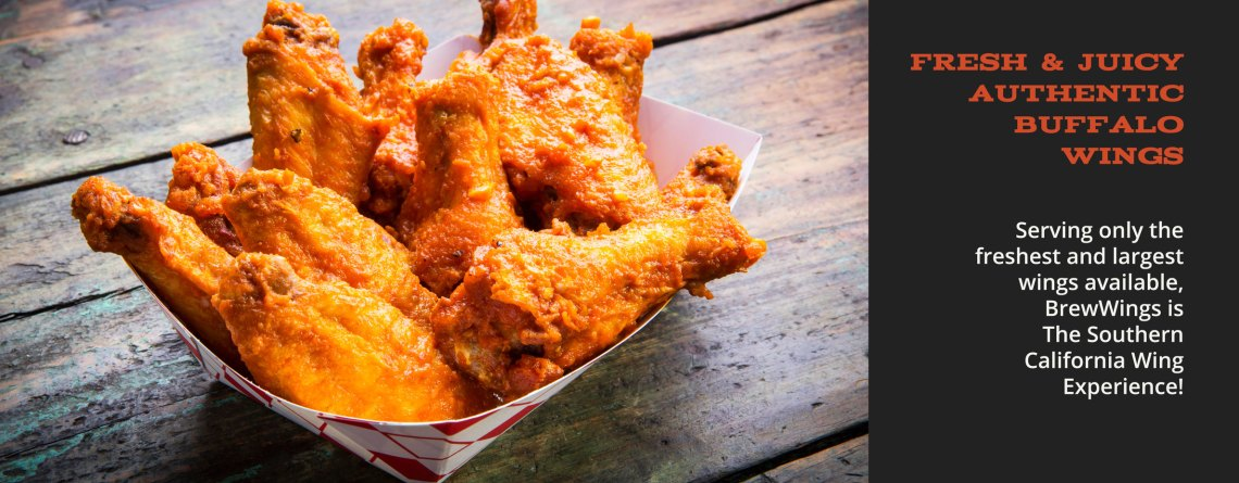 Fresh & Delicious Authentic Buffalo Wings