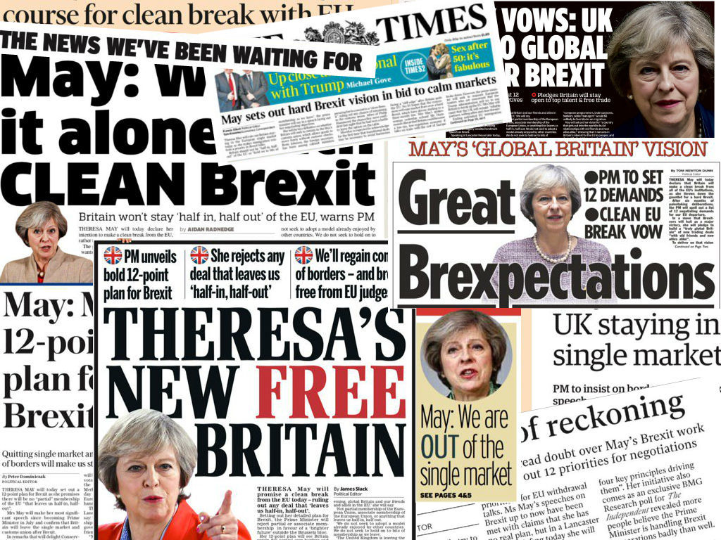 Brexit News For Tuesday 17th January