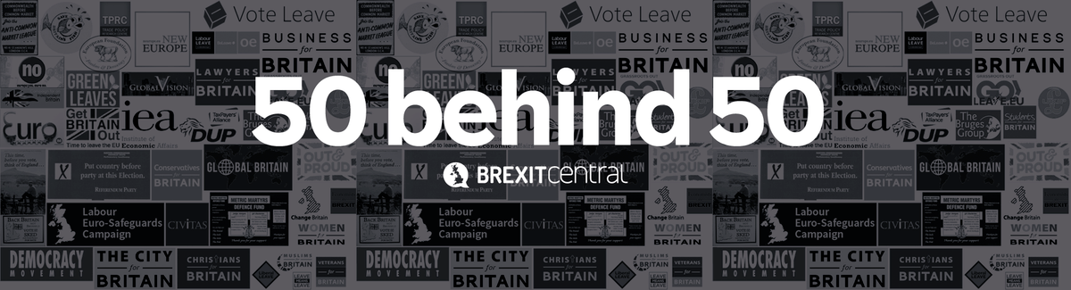 50 groups behind Article 50 – Part II