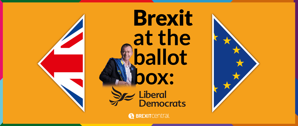 What the Lib Dem manifesto says about Brexit