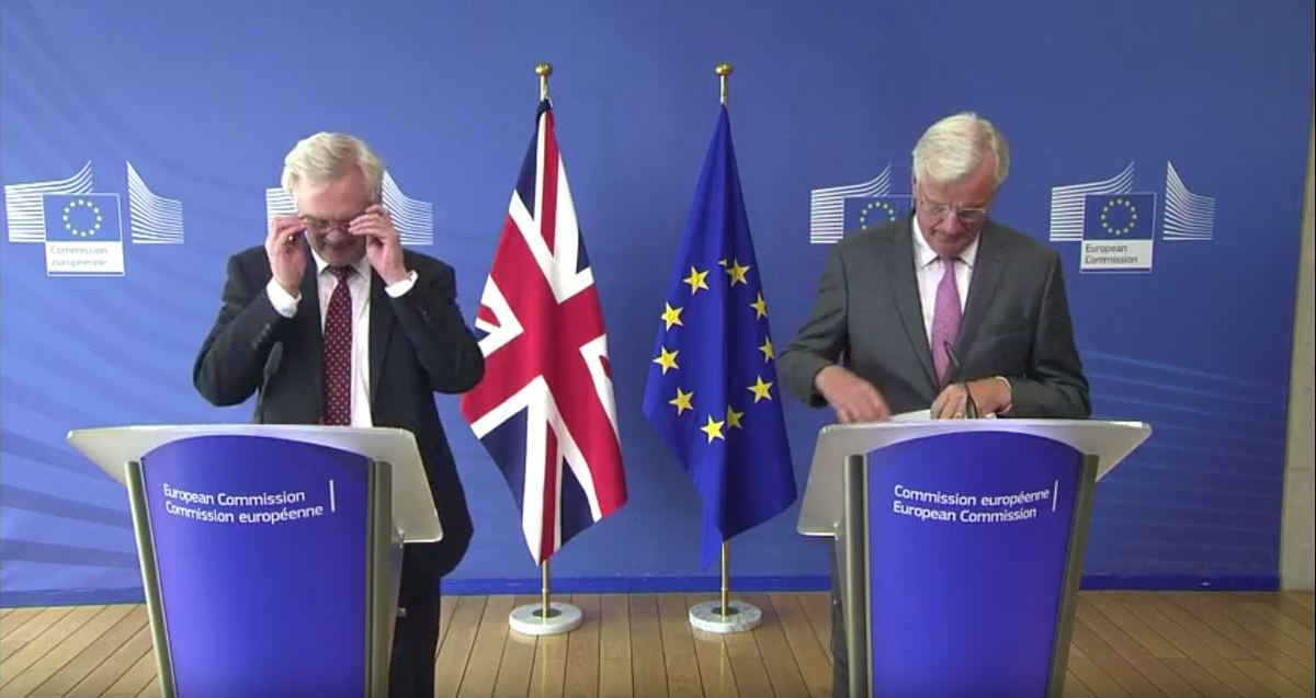 How the UK and EU line up for the third round of Brexit negotiations