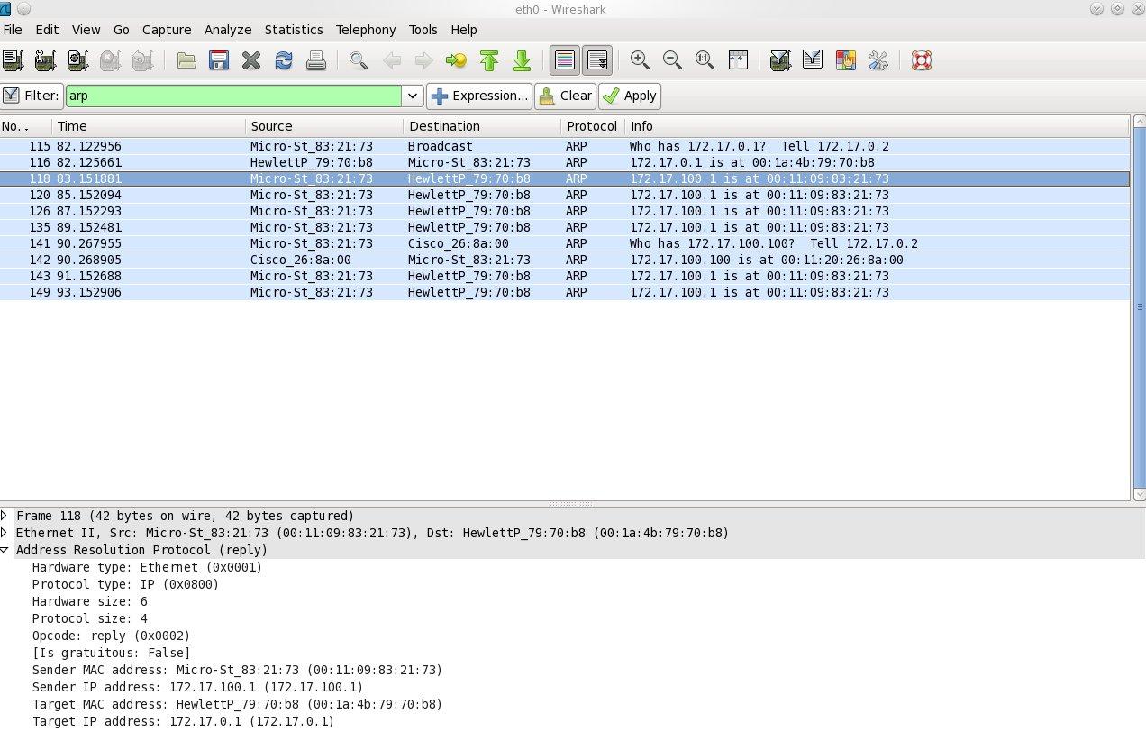 MAC address poisoning attack | Brezular's Blog