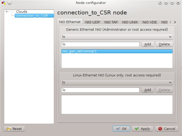Connecting Cisco CSR 1000v Series Cloud Services Router to