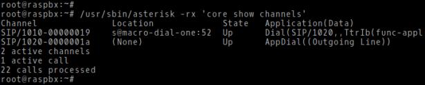 Asterisk on Raspberry Pi | Brezular's Blog