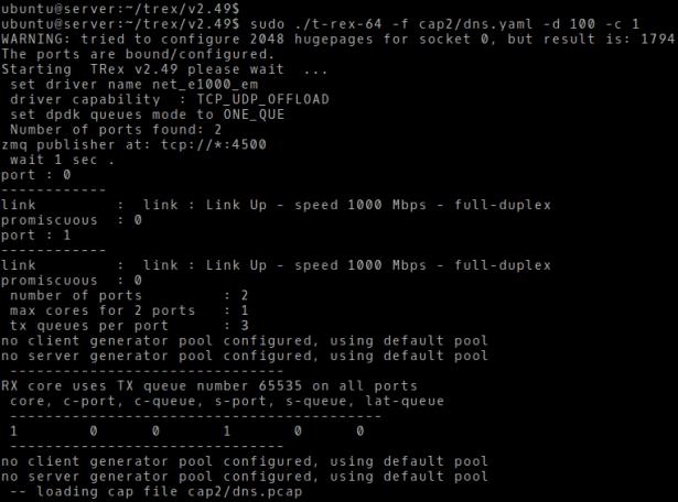 Cisco TRex on Ubuntu Server 18 04 | Brezular's Blog