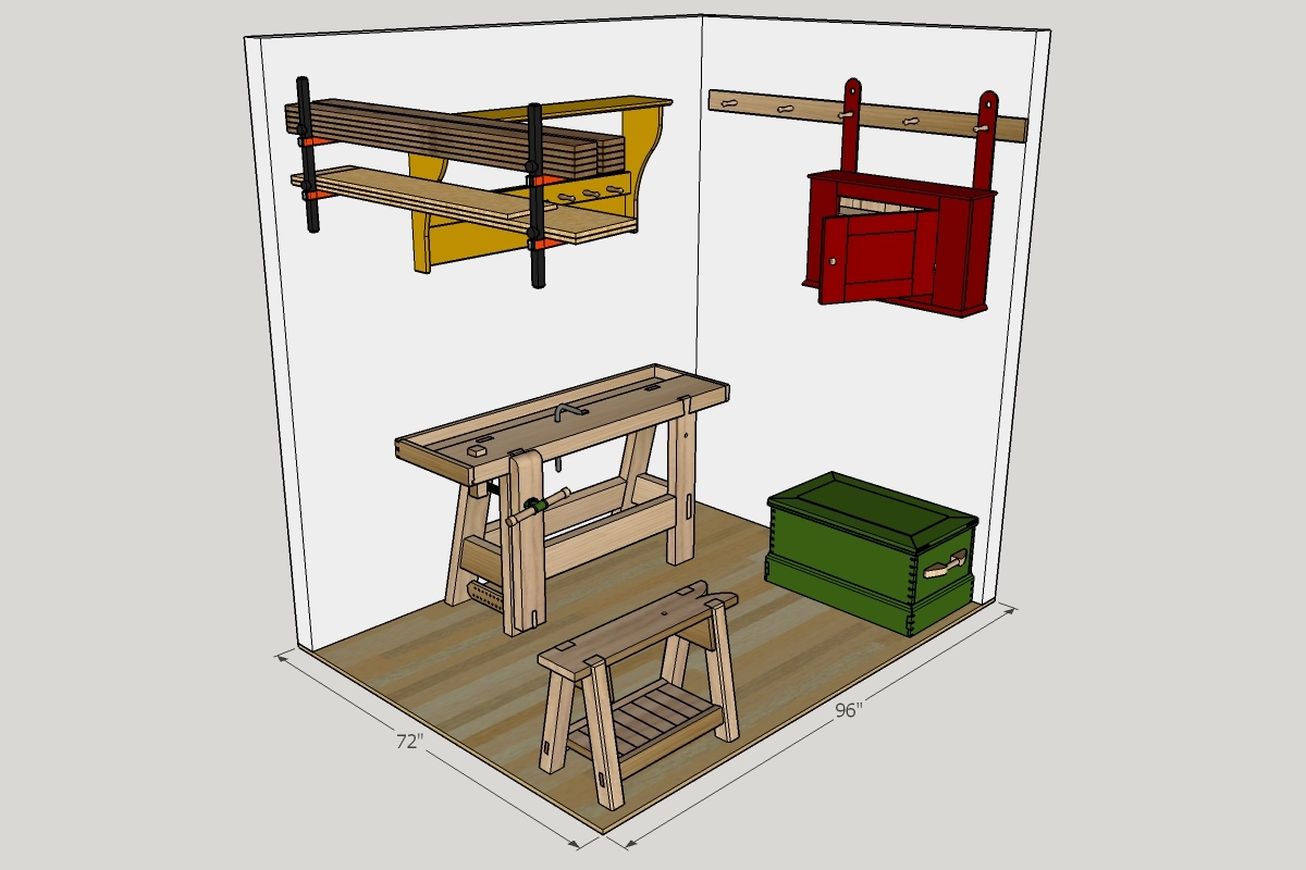 Small Wood Shop Layout