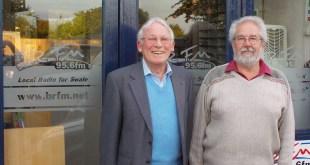 Colin Friend & Derek Collins from the Sheppey Organ Club At BRFM Bridge Radio on the Daniel Monday night community show