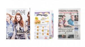 Returpapper & tidningar