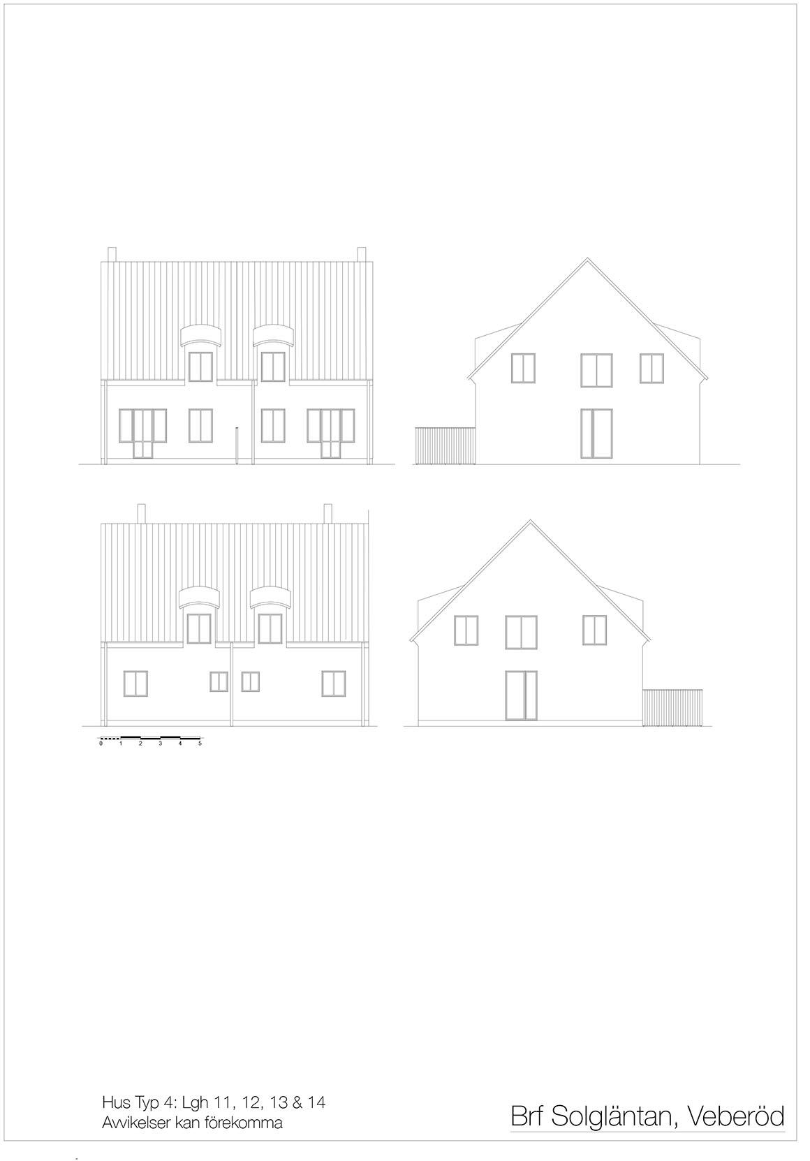 11 Hus Typ 4 Fasader _ Layout
