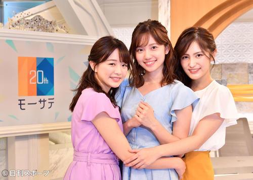 【芸能】テレ東新人アナ3人娘がアイドル並に可愛い!!森香澄、田中瞳、池谷実悠