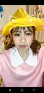 17Live(イチナナ)大阪のアイドル はるちゃぴさん幼稚園児コスプレ