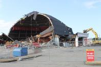 The Cinema 150 was demolished in January 2015. The building had been used as a concert venue before its demise.