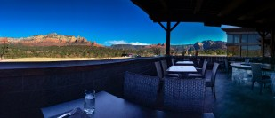 View from the Mariposa Patio