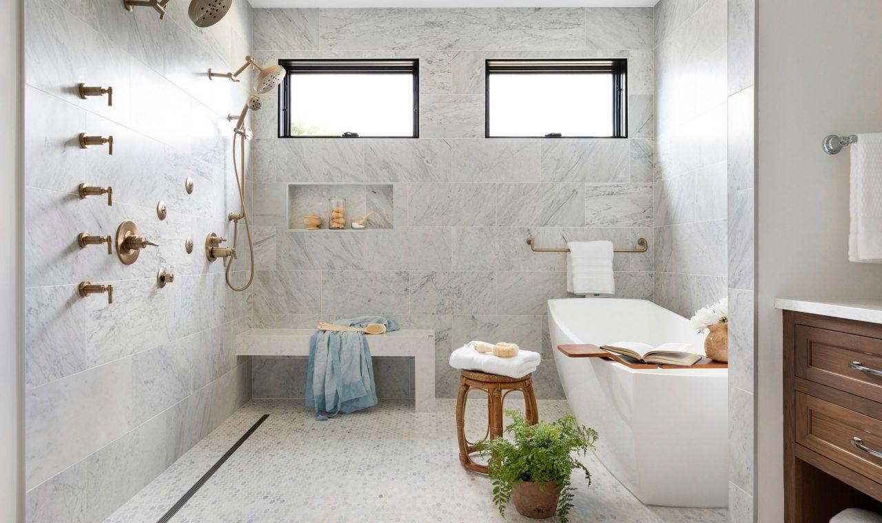 How To Design A Master Bathroom That Feels Like A Luxury Hotel Bria Hammel Interiors