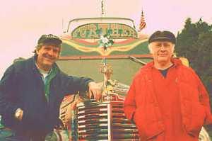 Ken Babbs (left) & Ken Kesey