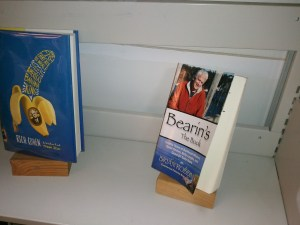 Personally, I'm honored to have Bearin's: The Book on the shelf alongside America's Banana King at the Public Library in Camden, ME. Have yerself a Chiquita on me, my friend. (With thanks to the eagle-eyed Sarah Ruef-Lindquist!)