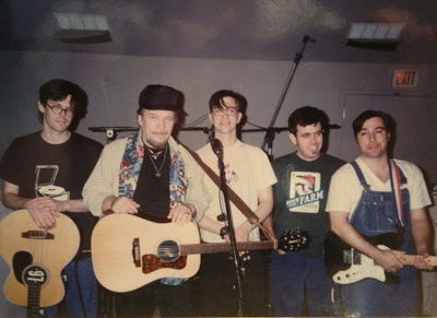 Ol' Hoss and the boys in the studio (Photo from North Folk Sound)
