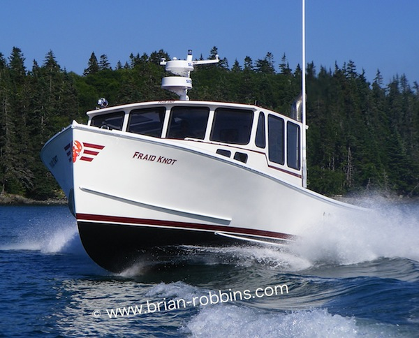 Patrick Feeney of Cutler, ME launched the 40' Wayne Beal Fraid Knot in 2010.