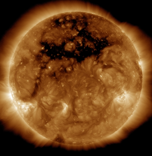 October 2015 - Coronal Hole in the Sun