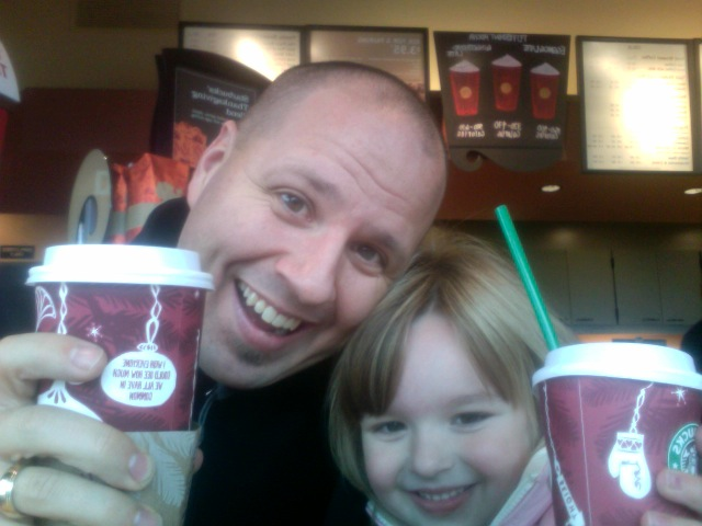"""""""We had so much fun on our daddy-daughter date"""" Audrey"""