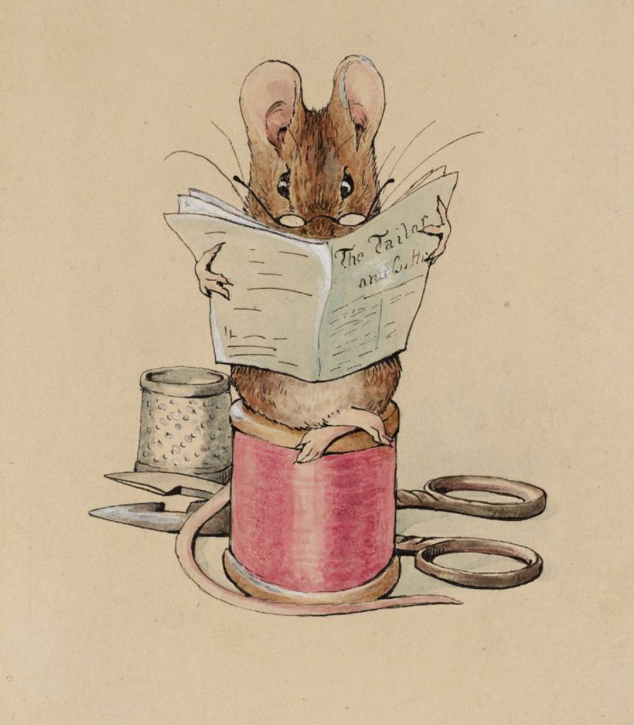 Frontispiece: The Tailor Mouse circa 1902 Helen Beatrix Potter 1866-1943 Presented by Capt. K.W.G. Duke RN 1946 http://www.tate.org.uk/art/work/A01089