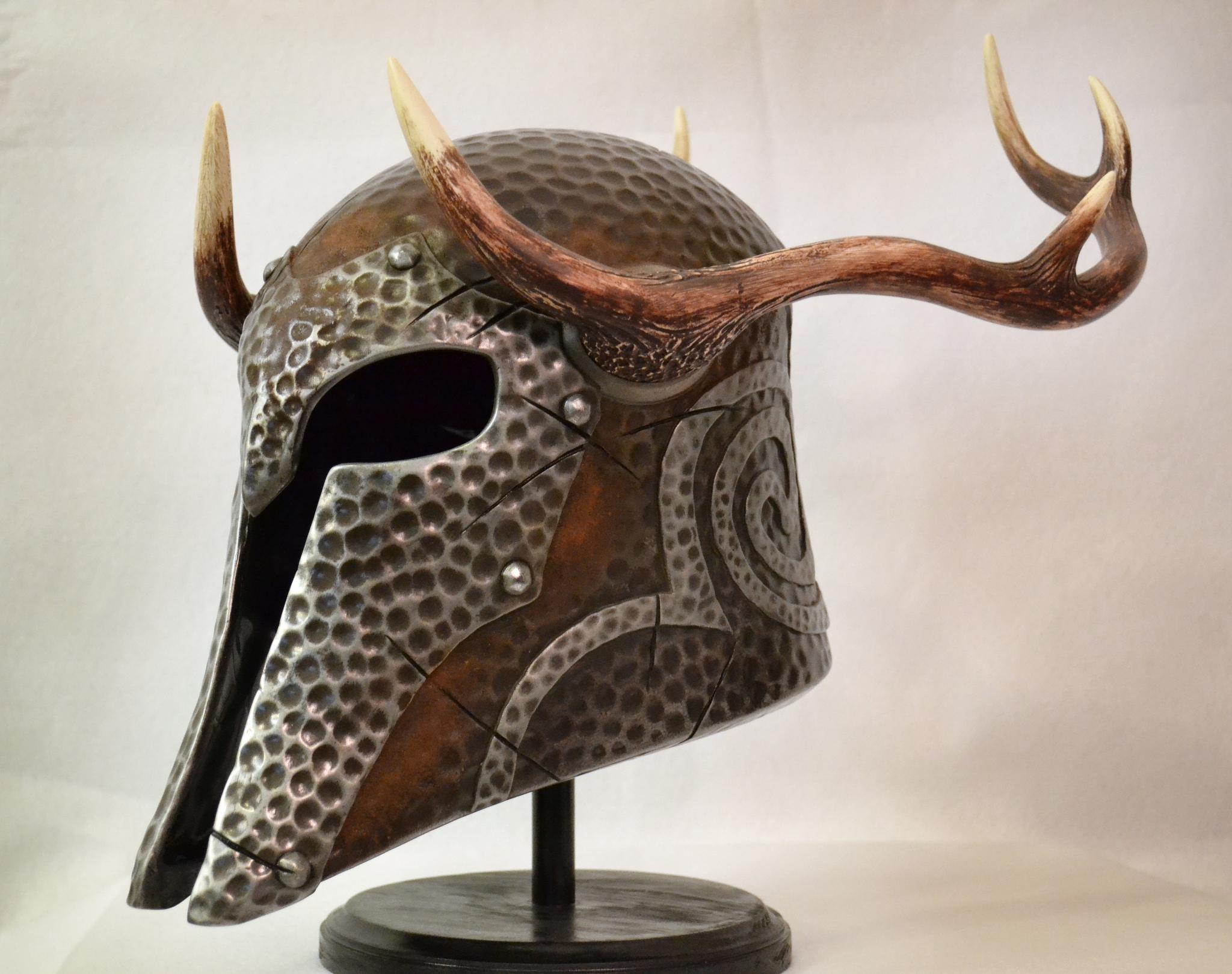 Female Draugr/Ancient Nord Helmet
