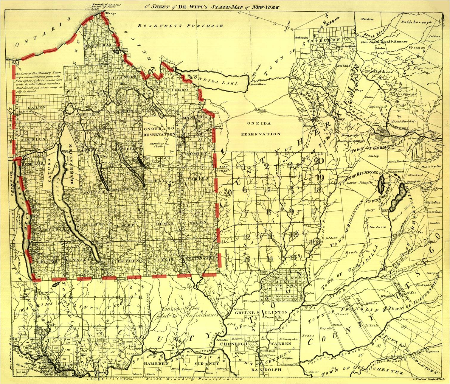 1806 – The Military Tract Of Western New York Brian