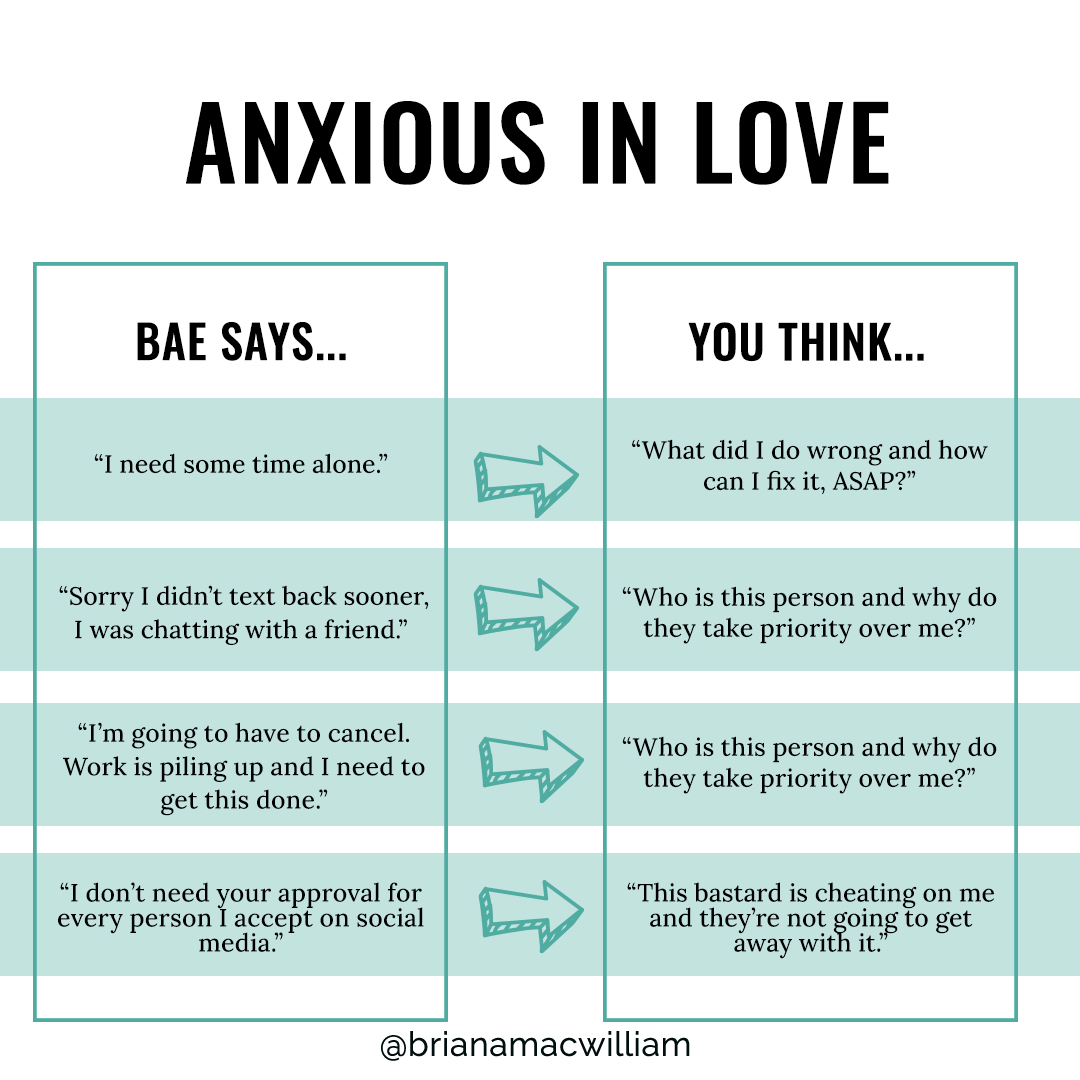 anxious in relationships