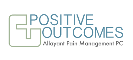 Positive Outcomes by Allayant Pain Management PC Logo. Migraine, Chronic Pain, and Addiction Treatment in Hendersonville, NC.