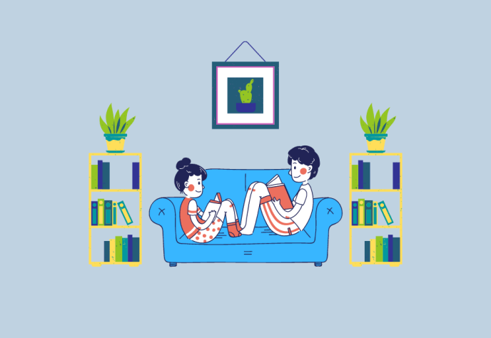 A peaceful home can lead to better mental health.