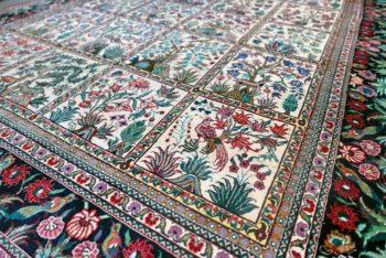 le nettoyage de votre tapis en soie