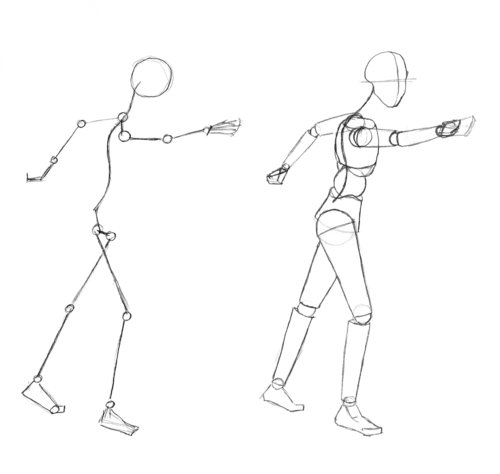 Stick Figure Drawing