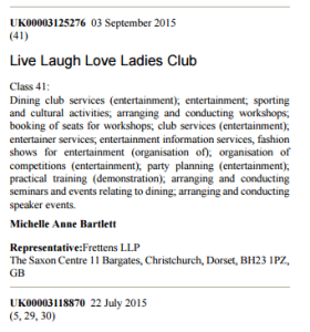 live laugh love ladies club