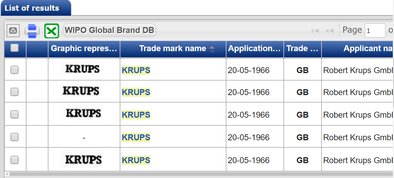 Krups 1966