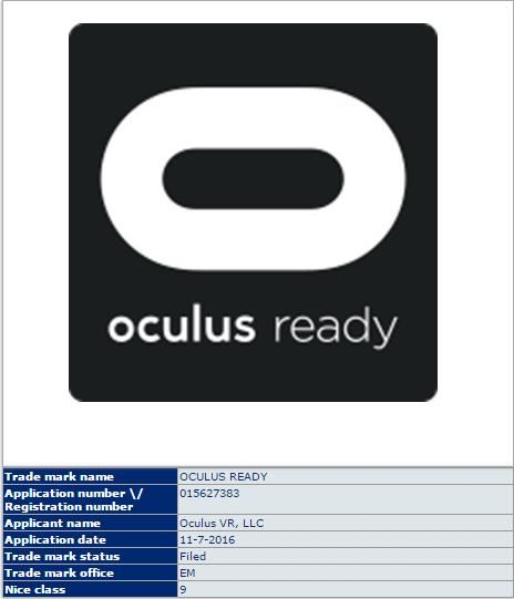 Oculus Ready