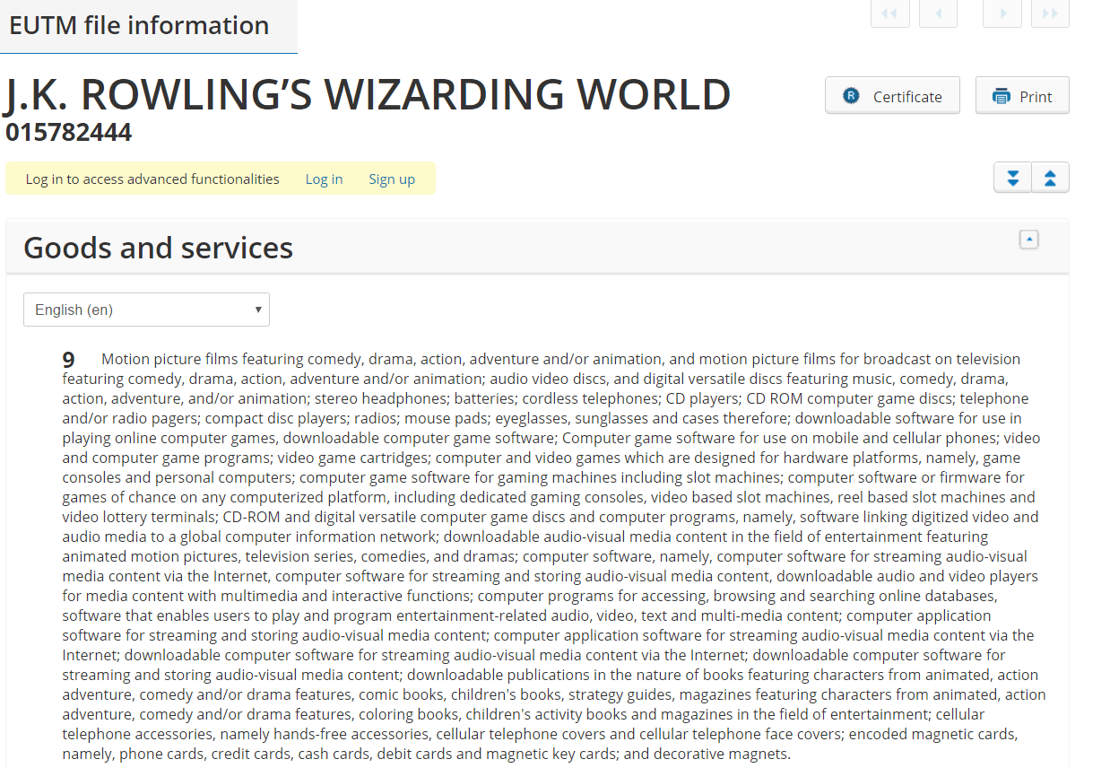 JK Rowlings Wizarding World