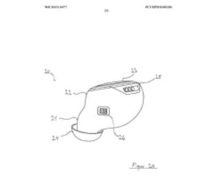 Bragi Patent Application