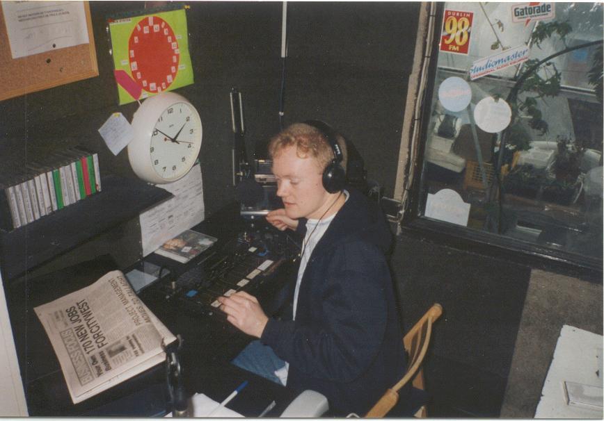 Freedom 92 FM Studio 1997