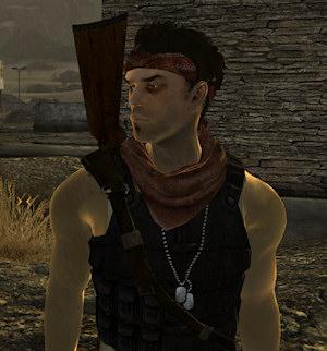 Niner companion mod screenshot - New Vegas | Brian Watkins