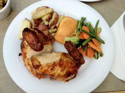 Boston Market Chicken and Vegetable Meal Made Healthy