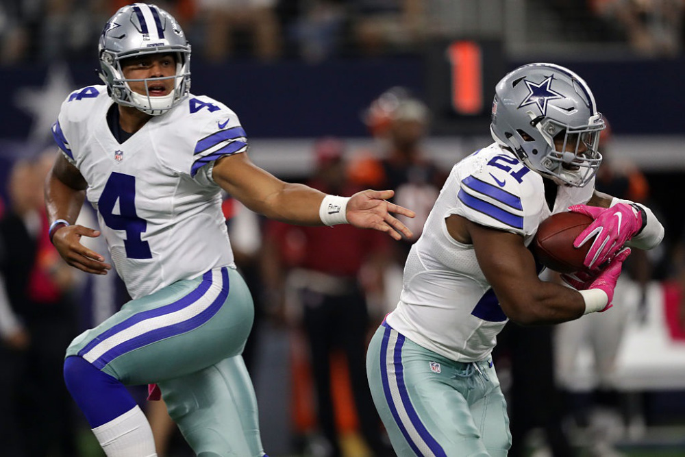 Led by a pair of rookies, Dallas has the best record in the NFC and has 5/1 odds to win the Super Bowl in Houston.