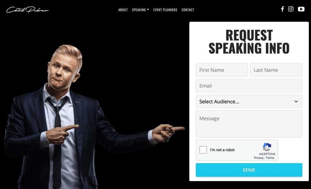 Professional Keynote Speaker Clint Pulver Website