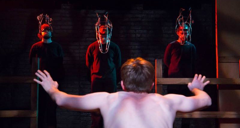 Equus. Photo © The Avenue Theatre / Rachel Graham. 2015