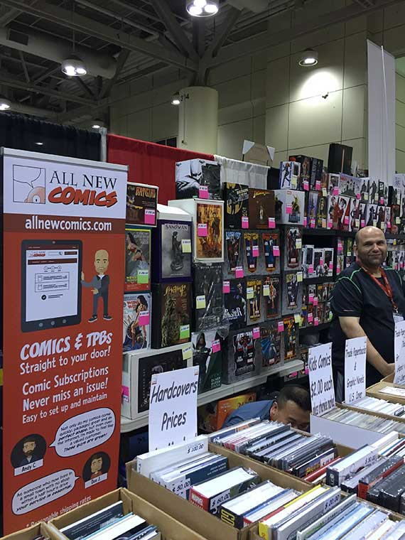 The All New Comics Booth