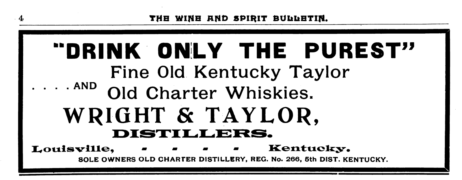 Kentucky Wasn't Big Enough for Two Colonel Taylors