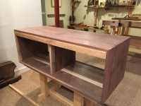 Wall Mounted Media Console - Brian Holcombe Woodworker